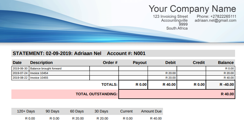 Customer Zone Online Invoicing Web Based Invoice Application South African Invoicing For Small Businesses